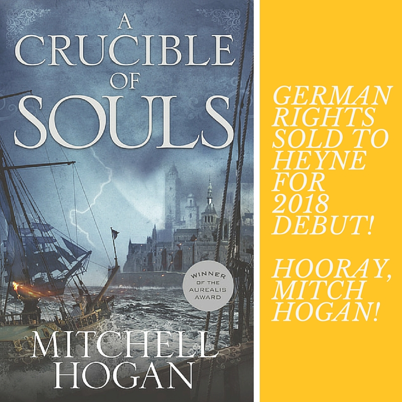 German rights sold to heyne!HOORAY,MitchHogan!